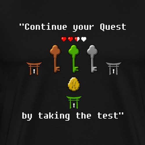 Continue your Quest! - Men's Premium T-Shirt