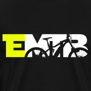 E-Mountainbike - EMTB und Ebike Shirt - Männer Premium T-Shirt