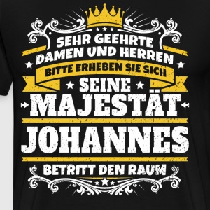 His Majesty John - Men's Premium T-Shirt