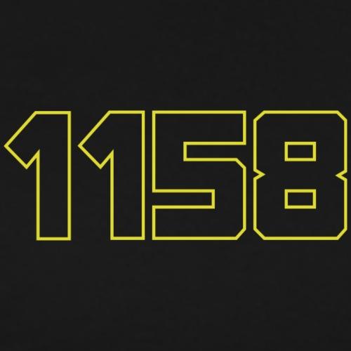 Munich Casual - 1158 Brustlogo mit Konturen - Männer Premium T-Shirt