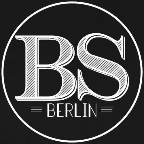 Bar Society Berlin Logo Weiss - Männer Premium T-Shirt