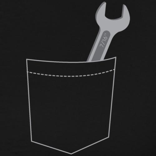 Clé en poche, mesure impériale - T-shirt Premium Homme