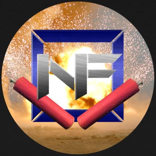 Nitro FireworksHD Logo - Männer Premium T-Shirt