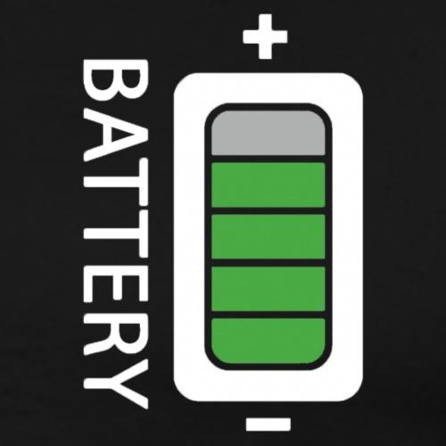 Battery - Maglietta Premium da uomo