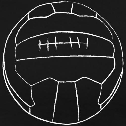 Retro Fußball - Männer Premium T-Shirt