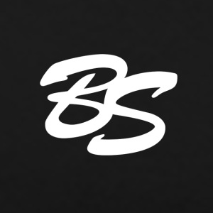 BS Logo - Premium T-skjorte for menn