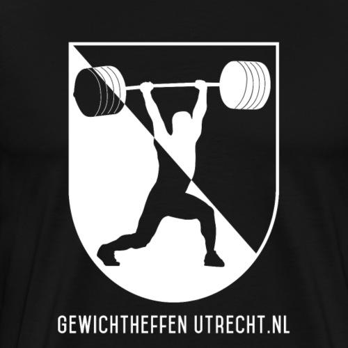 Gewichtheffen Utrecht Logo Shirt - Mannen Premium T-shirt