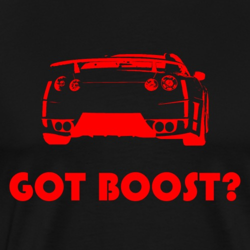 GOT BOOST? GTR in rot - Männer Premium T-Shirt