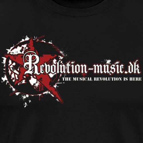 Revolution Music Logo - Herre premium T-shirt