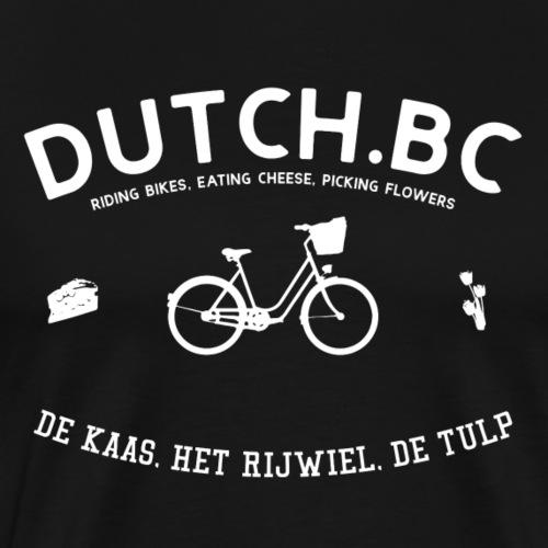 Dutch Bicycle Club - Holländischer Fahrradclub - Männer Premium T-Shirt