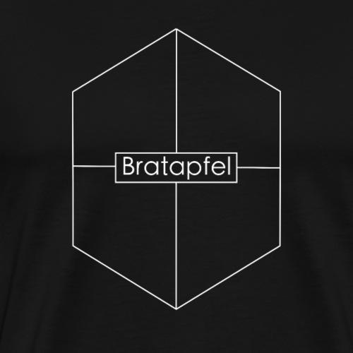 Bratapfel Hexagon ohne Füllung - Männer Premium T-Shirt