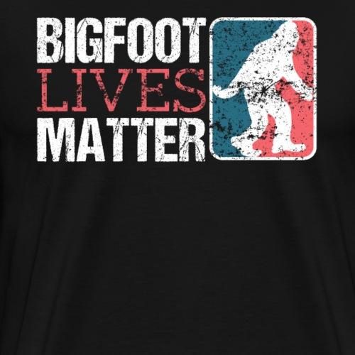 BIGFOOT LIVES MATTER - Männer Premium T-Shirt
