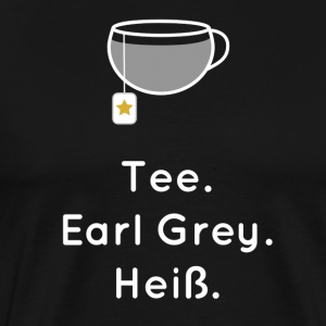 Tea. Earl Grey. Hot. - Men's Premium T-Shirt
