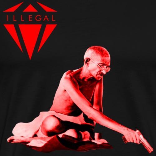 Ghandi ILG - Maglietta Premium da uomo