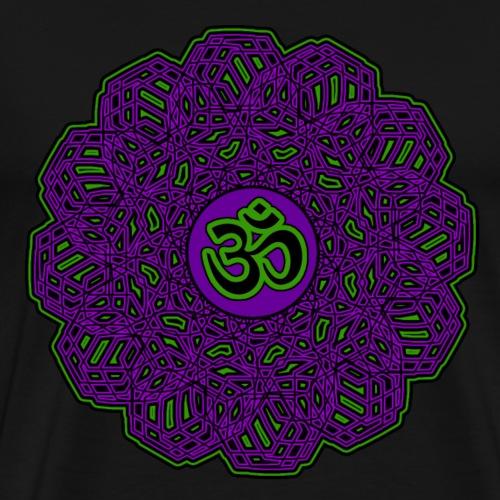 om symbol - goa - psy - yoga - meditation - Männer Premium T-Shirt