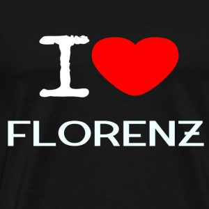I LOVE FLORENCE - Men's Premium T-Shirt
