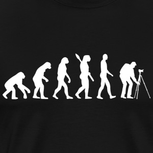 Evolution Fotografering w - Premium-T-shirt herr