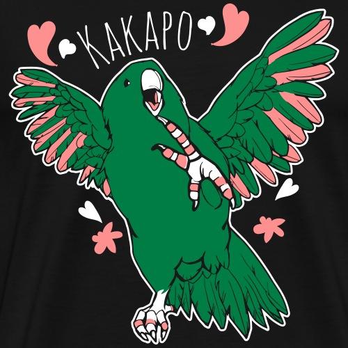 kakapo - fat parrot dance - Männer Premium T-Shirt