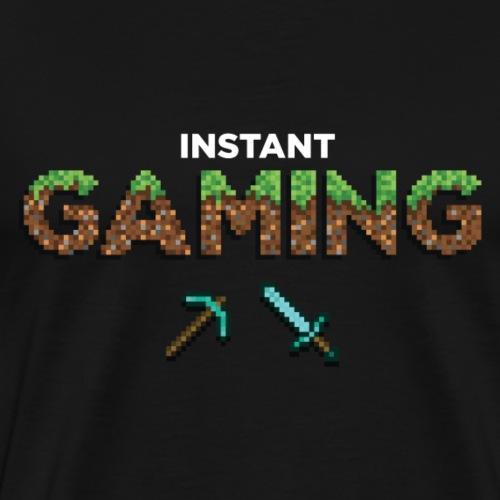 Minecraft instantanée - T-shirt Premium Homme