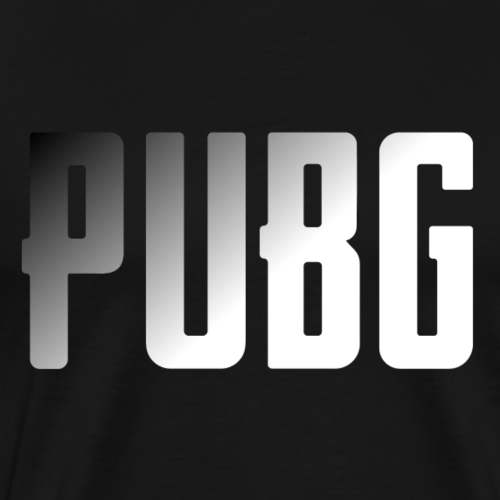 PUBG Black - Playerunknowns Battleground - Männer Premium T-Shirt