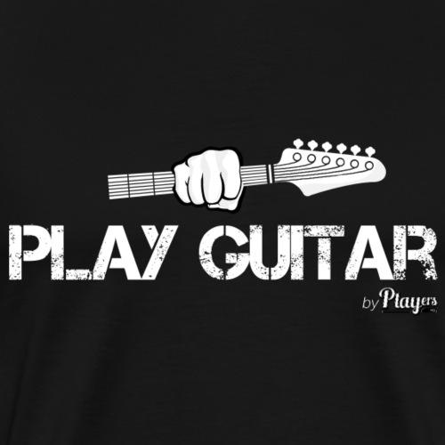 Play Guitar - Men's Premium T-Shirt