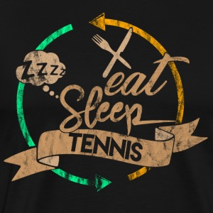 Eat Sleep Tennis Repeat - Männer Premium T-Shirt