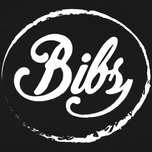 Bibs Logo Blanc - T-shirt Premium Homme