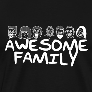 Awesome Family <3 - Premium T-skjorte for menn