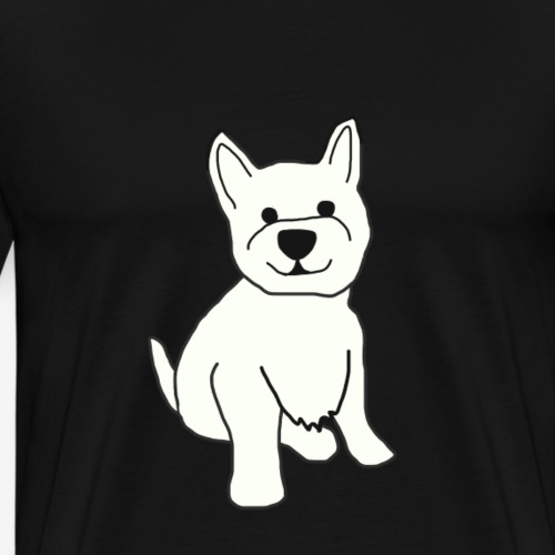 Hello Westie! - Men's Premium T-Shirt