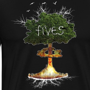 FIVES atomic tree - T-shirt Premium Homme