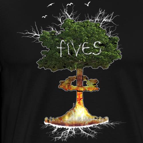 FIVES atomic tree - T-shirt Premium Homme
