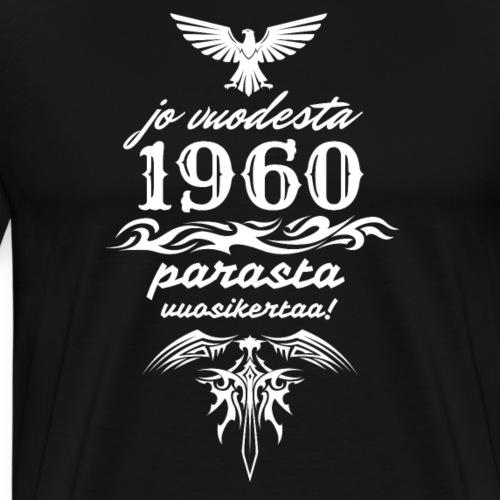 Parasta vuosikertaa, 1960 - Miesten premium t-paita