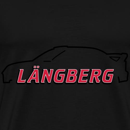 logotype Laengberg - Premium-T-shirt herr