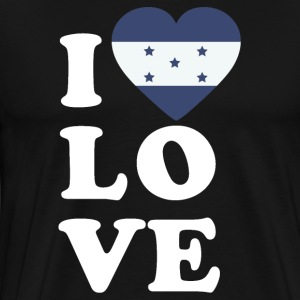 I love Honduras - Men's Premium T-Shirt