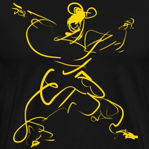 Kungfu figure - Men's Premium T-Shirt