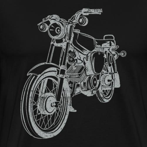 Simson S51 Vintage Lineart Silhouette - Männer Premium T-Shirt
