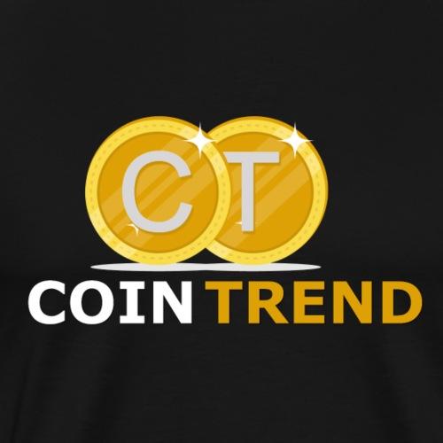 Cointrend Logo - Männer Premium T-Shirt