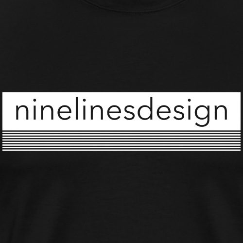 Ninelinesdesign Logo 3 - Männer Premium T-Shirt