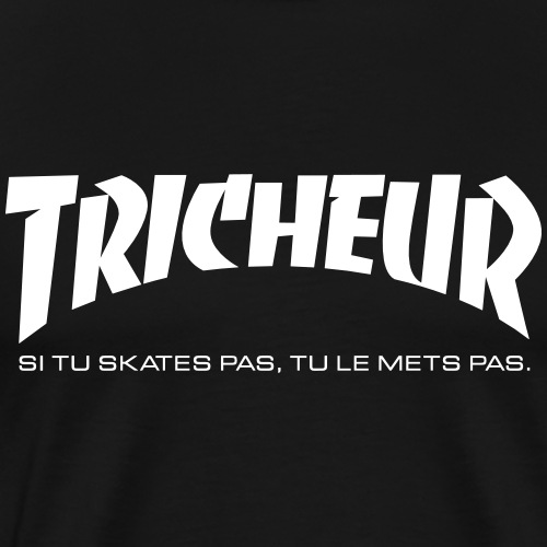 skateboard Trasher tricheur !