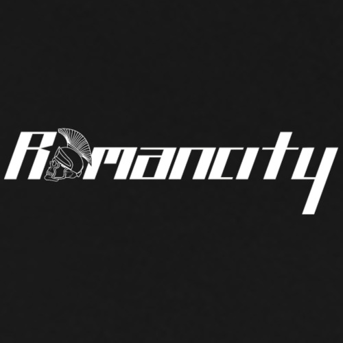 Romancity Logo White Small - Men's Premium T-Shirt