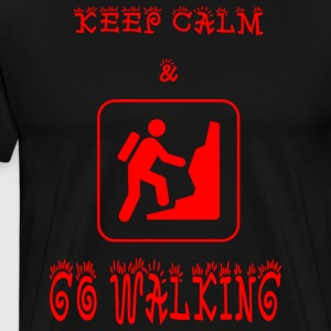 GO_WALKING - Herre premium T-shirt