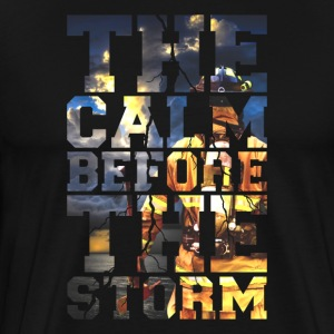 Firemen - The Calm Before The Storm Firefighter - Men's Premium T-Shirt