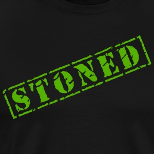 Drôle Marijuana Cannabis Weed Pot Stoned - T-shirt Premium Homme