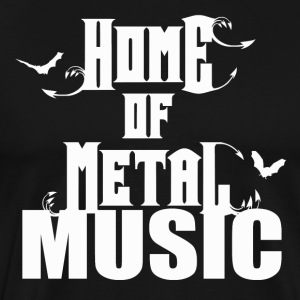 Metal-musik - Rock Passion - Premium-T-shirt herr
