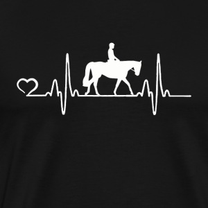 Cheval - Heartbeat - T-shirt Premium Homme