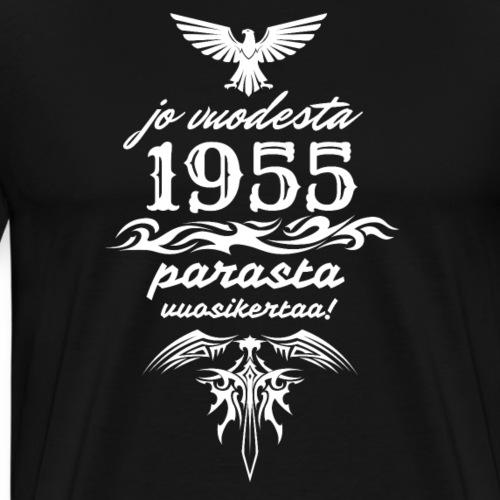 Parasta vuosikertaa, 1955 - Miesten premium t-paita