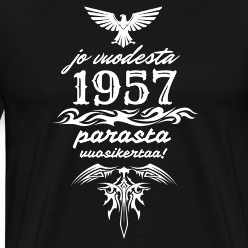 Parasta vuosikertaa, 1957 - Miesten premium t-paita