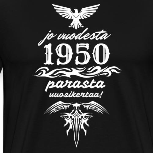 Parasta vuosikertaa, 1950 - Miesten premium t-paita