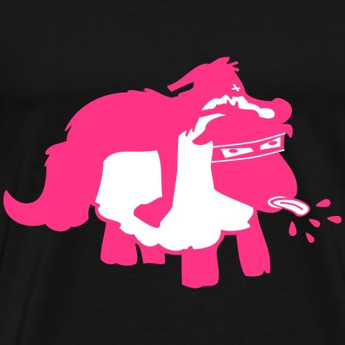 Schaf im Wolfspelz Magenta - Männer Premium T-Shirt