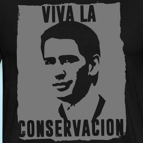 Sebastian Kurz - Viva La Conservacion (f. dunkel) - Männer Premium T-Shirt